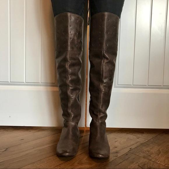 c1af71c8d21 NWOB Kenneth Cole Thigh High Bard Tricks Boots